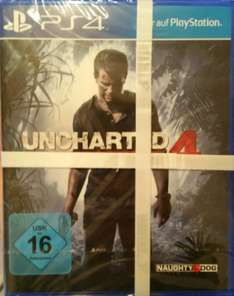 Uncharted 4 PS4 - Leipzig Saturn Hbf