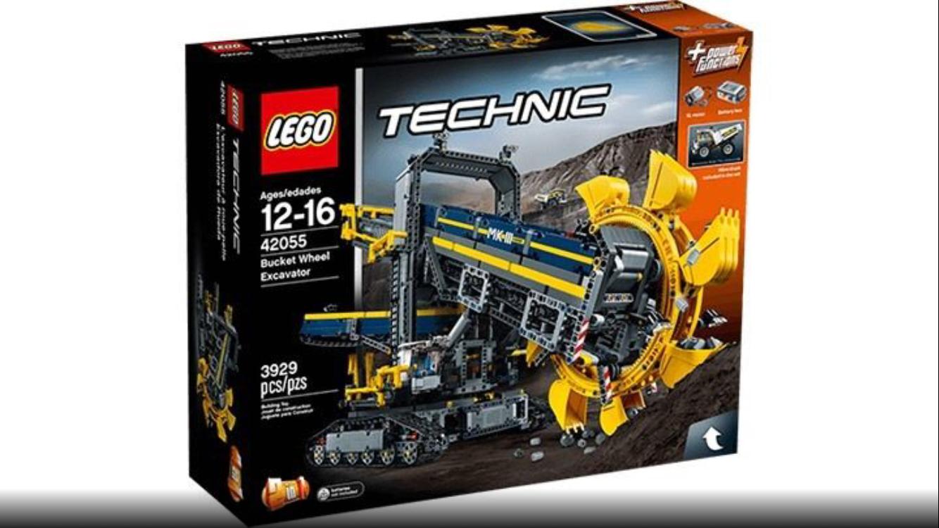 (Lokal Schweiz) COOP offline  Lego Technic Schaufelradbagger 42055 für 143€