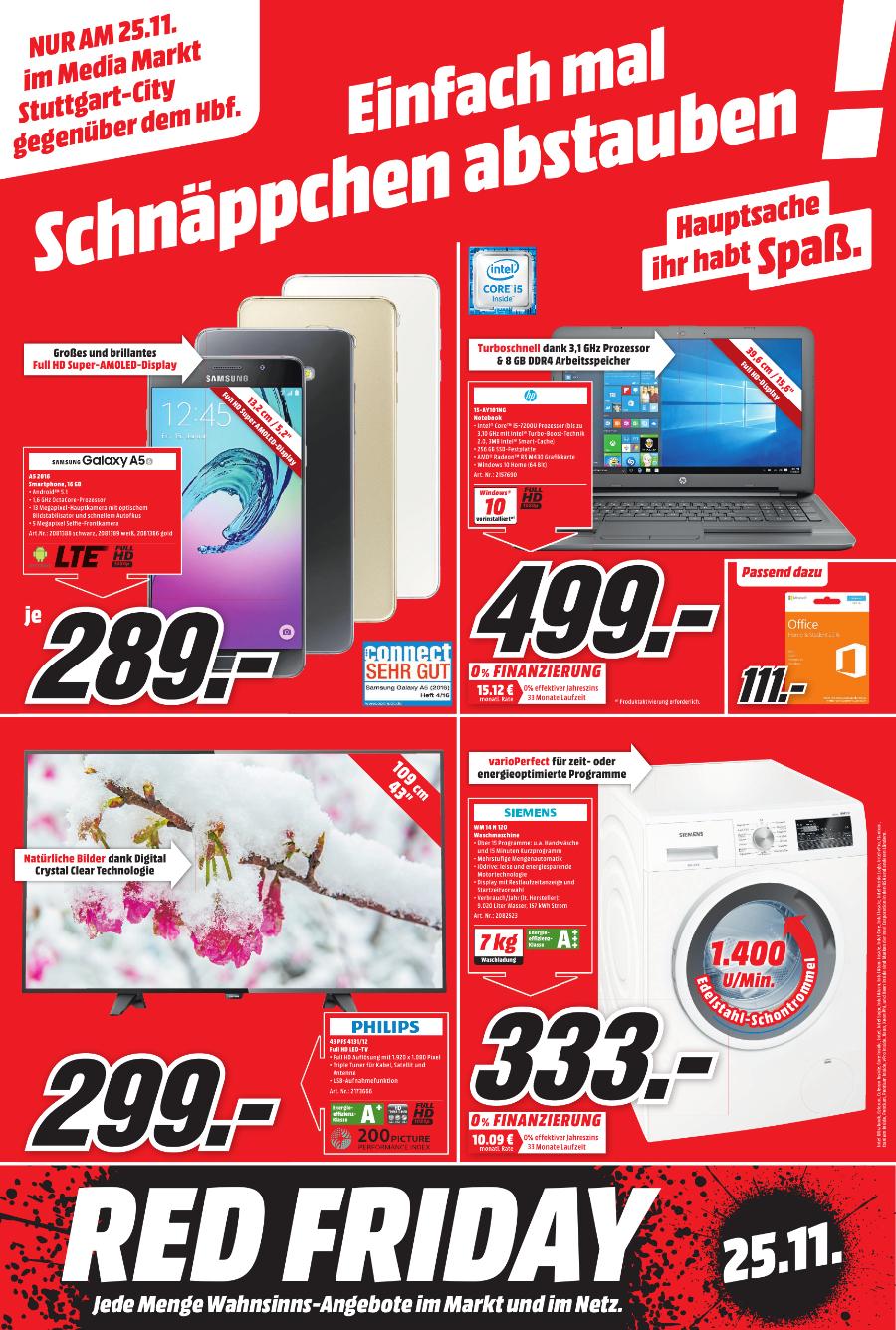 Siemens WM14N120 IQ300 Waschmaschine für 333€ [Mediamarkt Stuttgart]