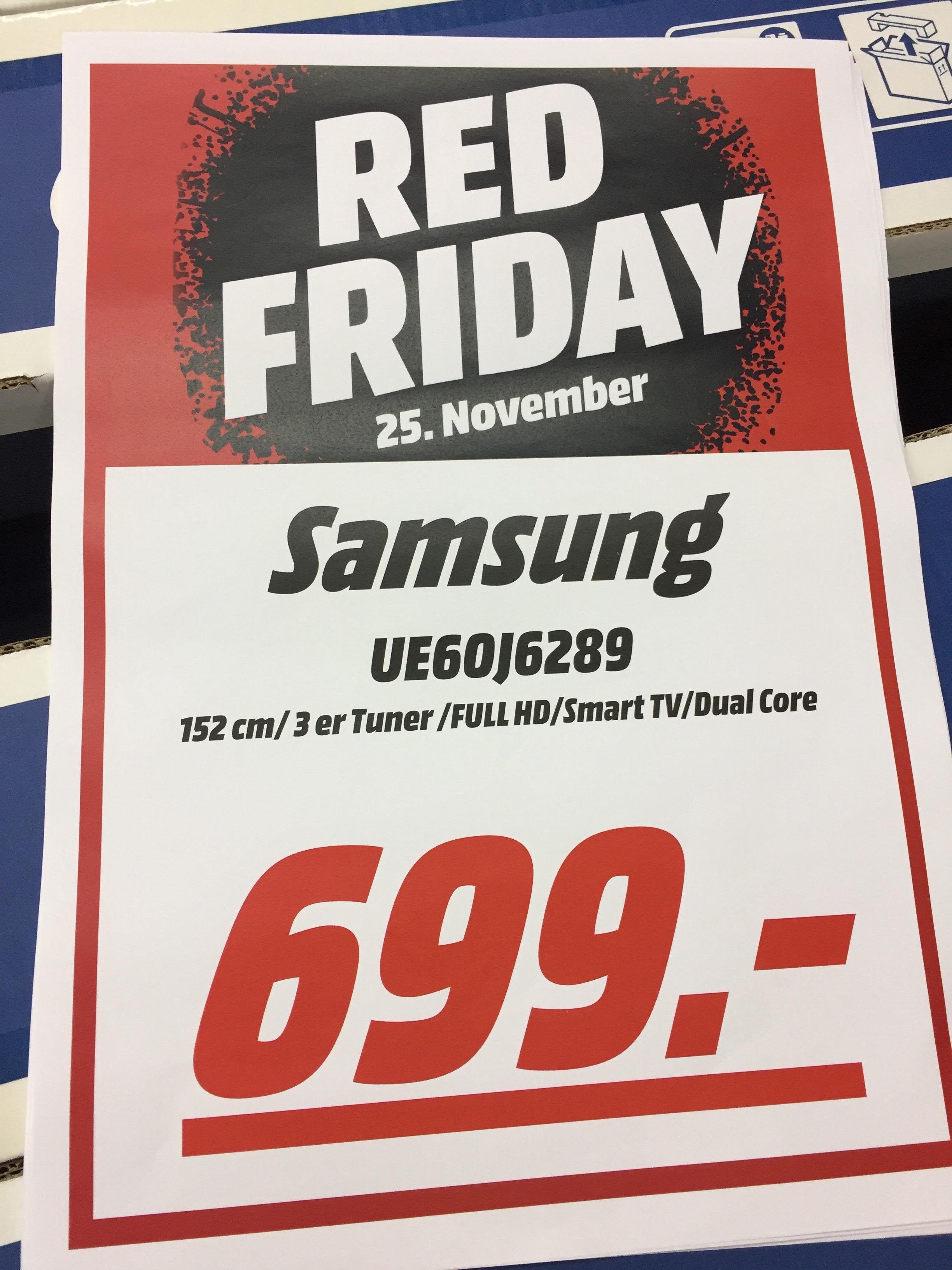 Samsung UE60J6289 Smart-TV zum Bestpreis! @BF2016