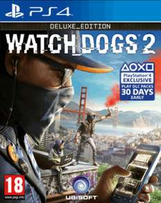 Watch Dogs 2 Deluxe Edition (PS4/Xbox One) für 44,77€ bei Game.co.uk