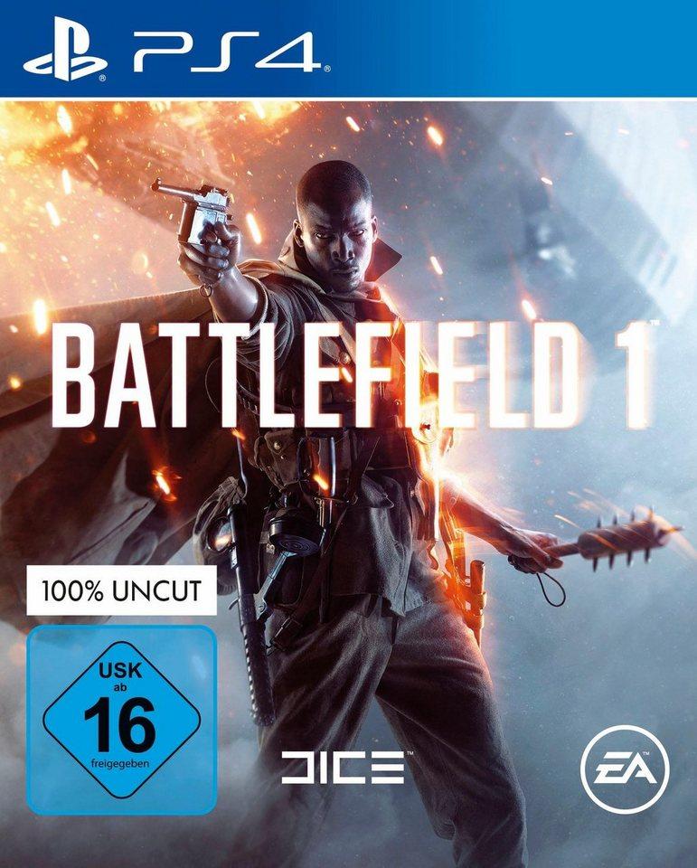 Battlefield 1 für PS4 - 34,94 (+alle anderen Konsolen)