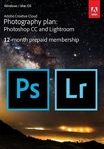 [amazon uk] Jahreslizenz von Adobe Photoshop CC + Lightroom für 82,54€ statt 130,99€ - auch für spätere Aktivierung