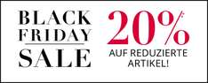 [Black Friday] 20% auf Sale Artikel bei P&C Peek&Cloppenburg.de