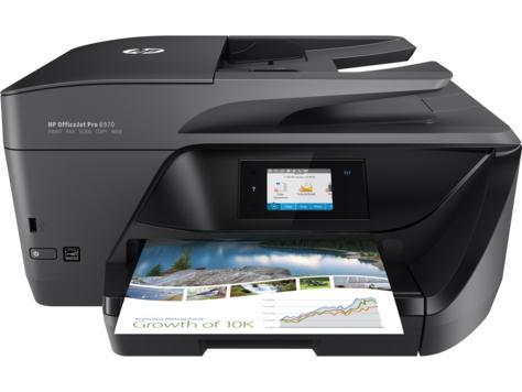 HP Officejet Pro 6970 Tintenstrahl - Multifunktionsdrucker All-in-one 4in1