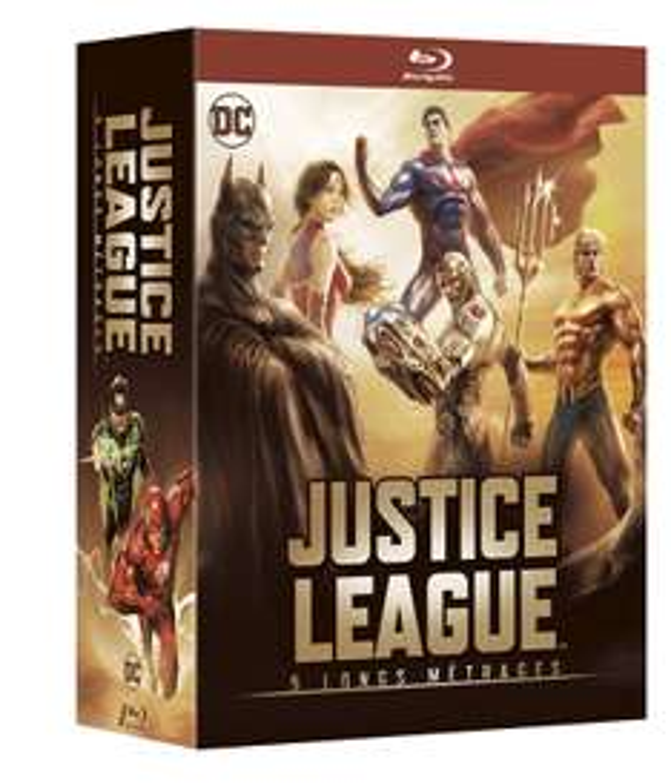 [Amazon.fr] DC Batman & Justice League, diverse Blu-Ray Boxen (Flashpoint Paradox, Götter und Monster, Atlantis, Teen Titans, Dark Knight, Killing Joke,...)