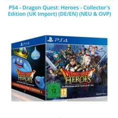 Dragon Quest Heroes Collectors Edition PS 4 33,98 inkl. Versand