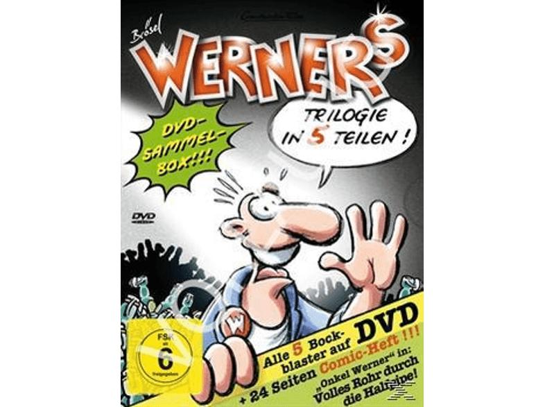[Saturn@BF2016] Werner - Comic-Box (5 DVDs + 24 Seiten Comicheft) für 22,10€ Versandkostenfrei