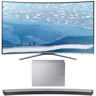 "[Redcoon] Samsung 4k Curved-TV 65"" UE65KU6509+HW-J6001R Soundbar"