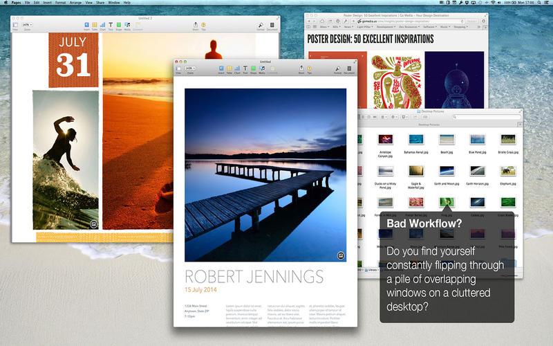 (MacOS) Window Tidy kostenlos statt 9 USD / Fenster organisieren