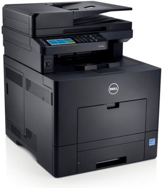 Dell C2665dnf Farblaser-Multifunktionsgerät inkl. 4 kompatible XL Toner im Gerät