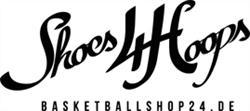 25% auf alles außer Jordan Retro Modelle bei Shoes4Hoops (basketballshop24.de)