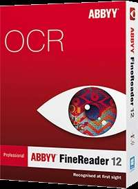 [OCR Software Windows] ABBYY FineReader 12 Professional
