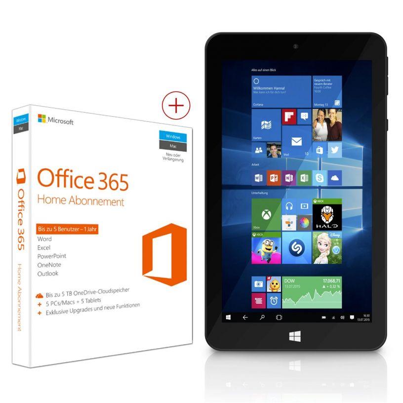 Cyberport  - Tablet und Office 365 Home für einen echt schmalen taler @bf2016