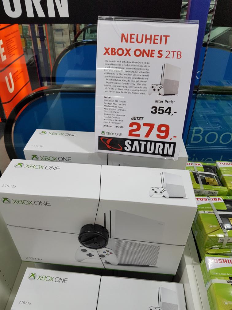 [Lokal - Saturn München Neuhauserstraße]: Xbox One S 2TB
