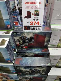 [Lokal - Saturn München Neuhauserstraße]: Xbox One S 2TB Ultimate Edition inklusive Gears of War 4