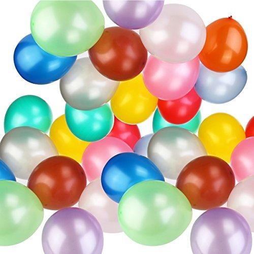 100 Luftballons Metallic Optik für 4,79€ Amazon Prime