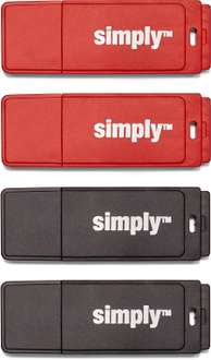 4 USB-Sticks (8GB) für 8,88€ - Staples