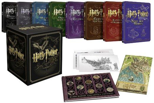 Ultimate Collector's Edition Harry Potter – inkl. Steelbooks und Sammlerstücke (40,02 EUR gespart)
