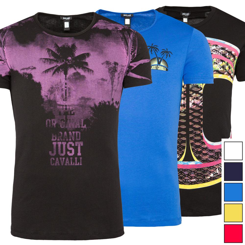 [Ebay WOW] Just Cavalli - T-Shirt, Herren, verschiedene Farben