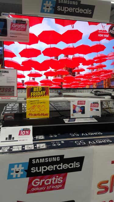 [Lokal Mediamarkt Viernheim] Samsung UE55KS8090 SUHD+ S7