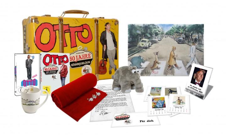 50 Jahre Otto Fankoffer - Limitierte Deluxe-Box + Extra Autogrammkarte