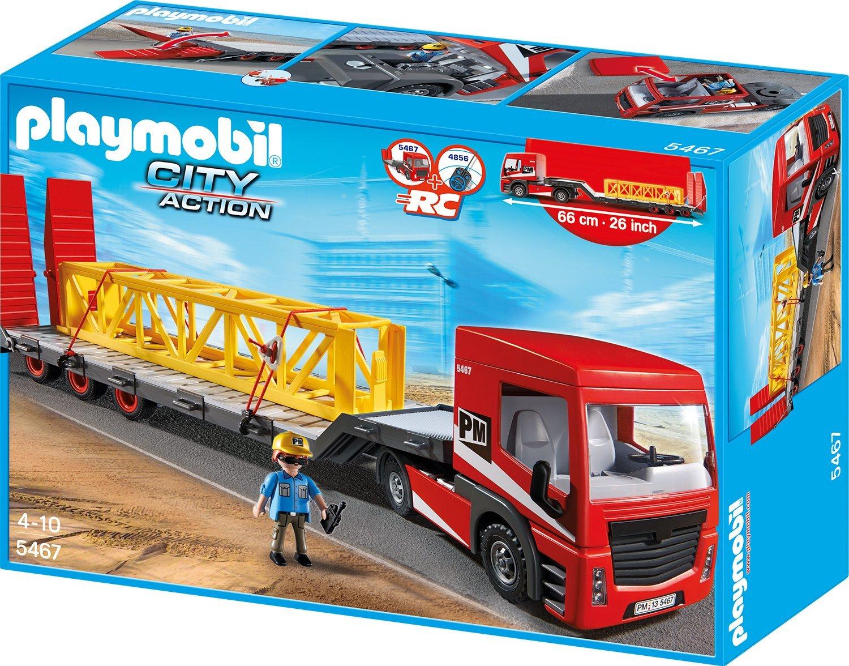 [amazon.de Prime] Playmobil Citylife - Schwertransporter für 24,99€ statt 39€