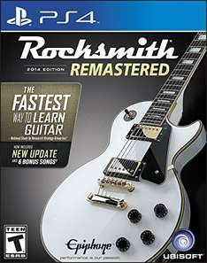 [Amazon.com] Rocksmith 2014 Edition Remastered inkl. Kabel