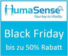 Bis zu 50% Black Friday Rabatt: Humasense Gentests  – Laktose, Zöliakie, Fruktose etc.
