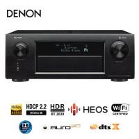 9 Kanal AVR Denon X7200WA schwarz/silber | HEOS Cinema Soundbar mit Subwoofer
