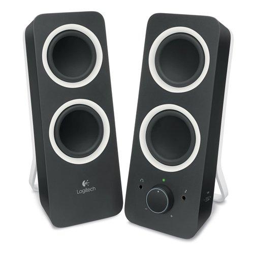 [@DC] Logitech Z200 2.0 PC-Lautsprecher in schwarz