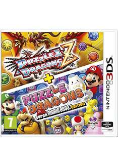 Puzzle & Dragons Z + Puzzle & Dragons: Super Mario Bros. Edition (3DS) für 10,66€ bei Base.com