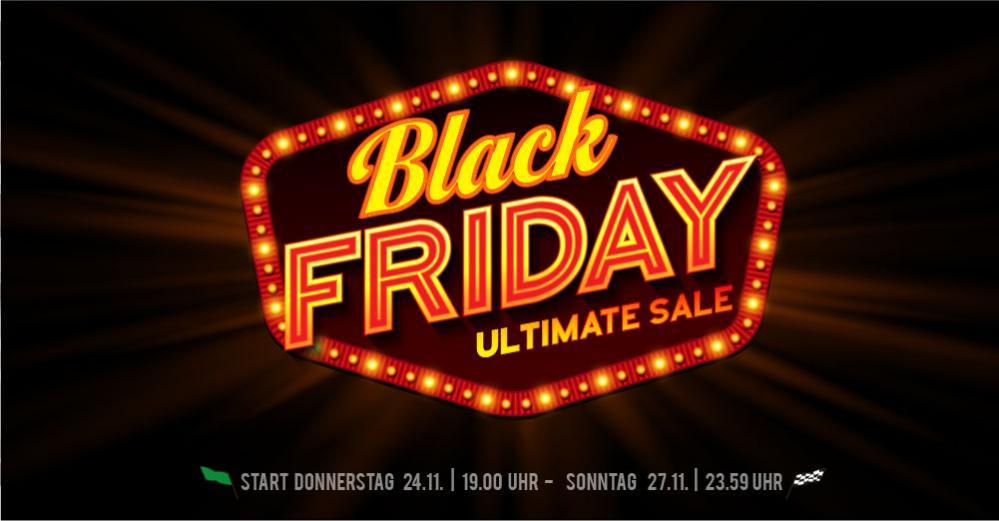 [Trends-Sport] Black Friday Weekend Sale - 40% auf Schuhe und Kleidung, 35% auf Tennisschläger und 20% auf Winterware