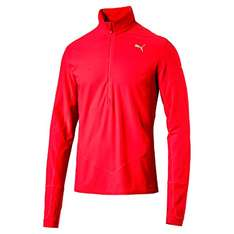 Puma Herren Night Cat 1/2 Zip Top Langarm Shirt Gr. XL für 13,57€