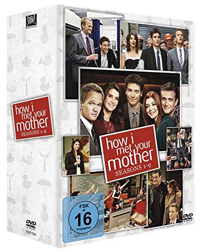 How I Met Your Mother - Seasons 1-9 Komplettbox alle Staffeln (27 DVDs) [Amazon Blitzangebot]