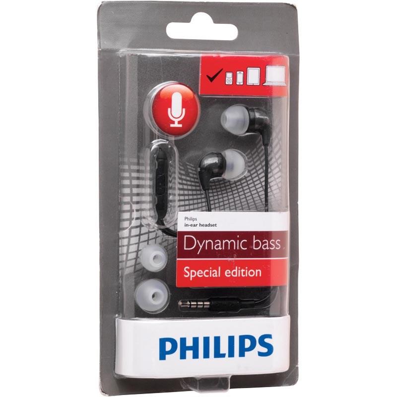 Philips In Ear Headset Black (Black Friday Angebot)