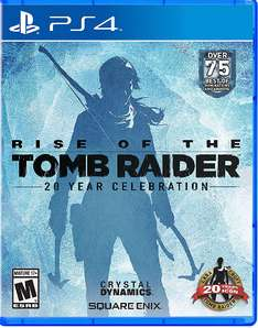 Rise of the Tomb Raider 20 Year Celebration (PS4) für ~30€ im kanadischen PSN Store