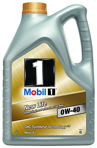 [Amazon][Blitzangebot] Mobil 1 New Life Motoröl 0W-40, 5L