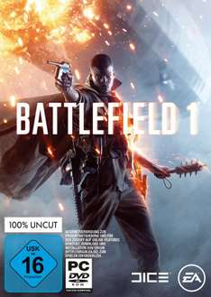 Battlefield 1 PC=36.99/PS&xbox 27.99 Otto Neukunden [CD] incl vesand.== 20 Euro Rabatt