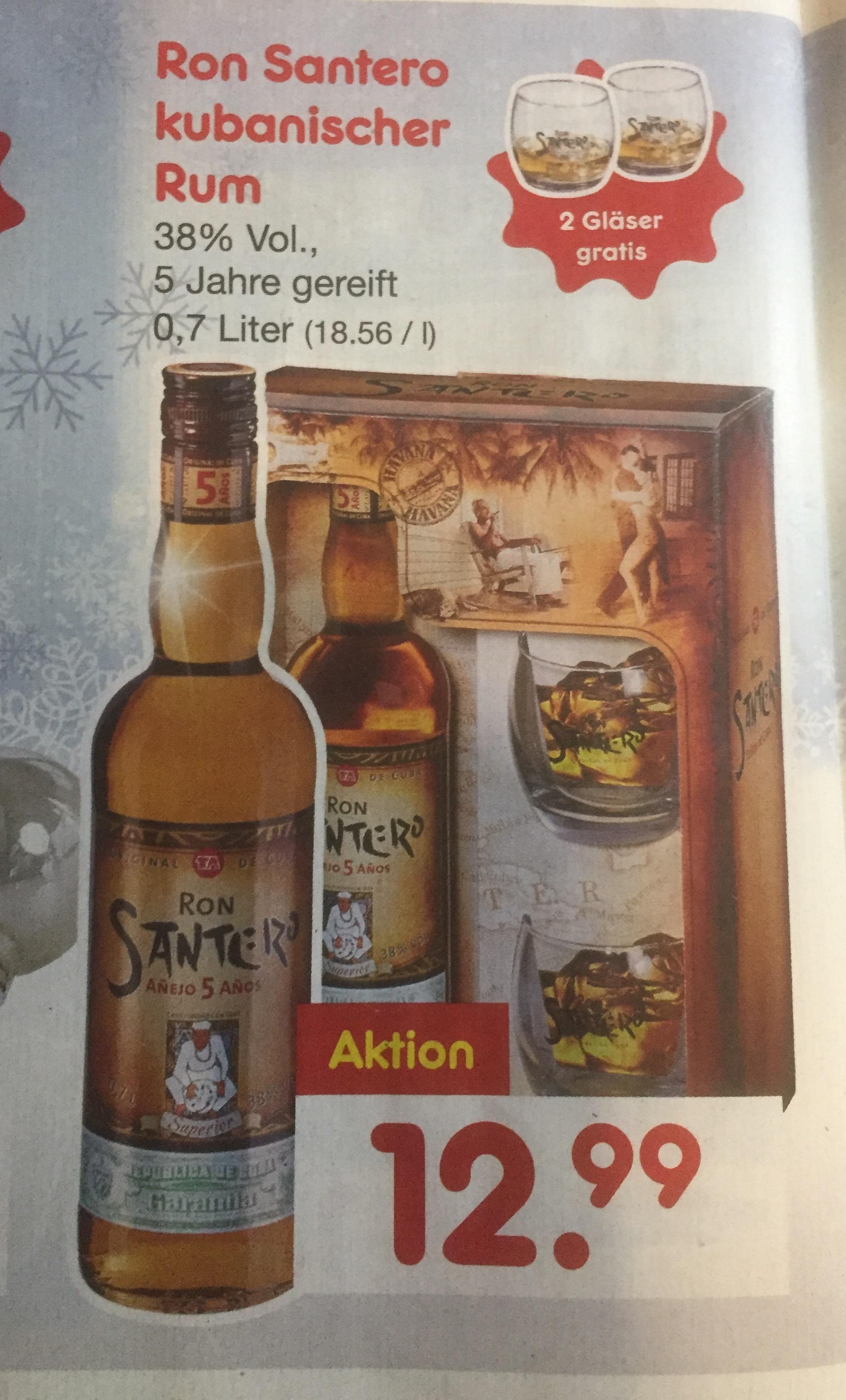 Santero 5 Jahre Kubanischer Rum @ Netto Marken-Discount Raum Landsh