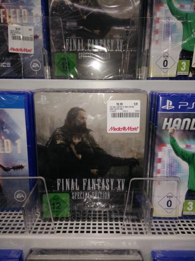(Lokal MM Neustadt Wstr.) PS4 Final Fantasy XV Steel Book Edition