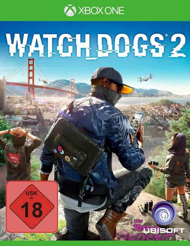 Watch Dogs 2 für 39,99 bei Otto (Gutscheincode 83301)