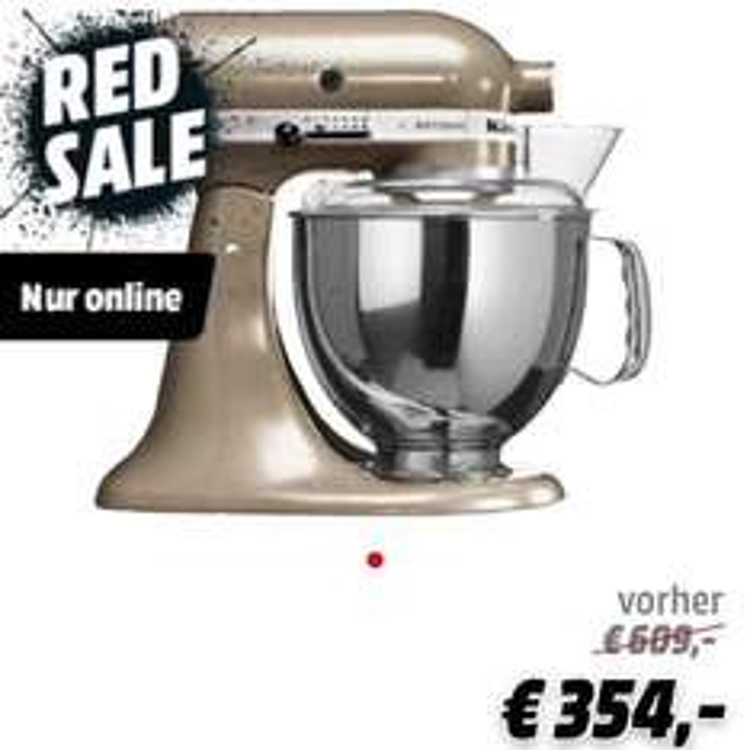 KITCHENAID 5KSM150PSECZ Dunkelbeige / Silber MediaMarkt