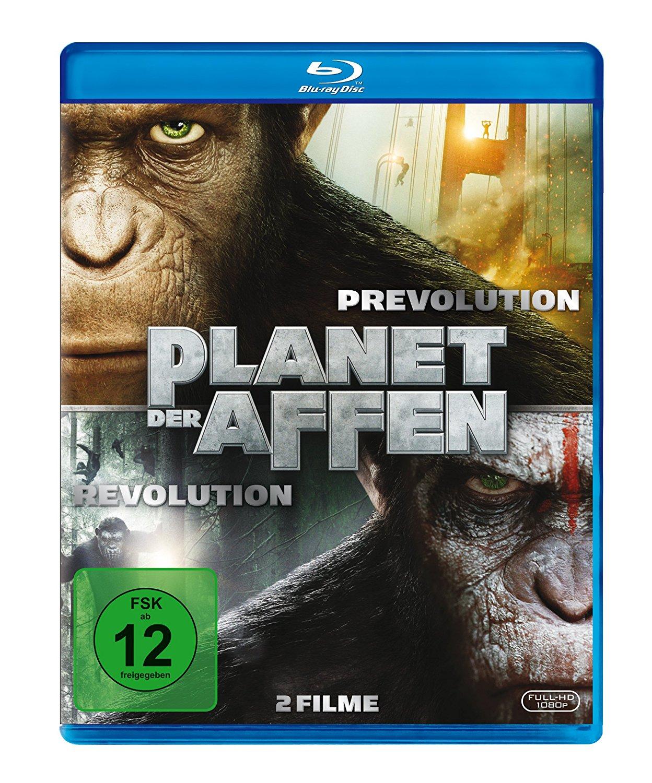 Planet der Affen: Prevolution & Revolution [Blu-ray] - [Amazon Prime]