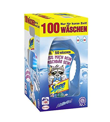 Amazon Prime - Spee Aktiv Gel (Sprüche Edition) Waschmittel - 100 WL