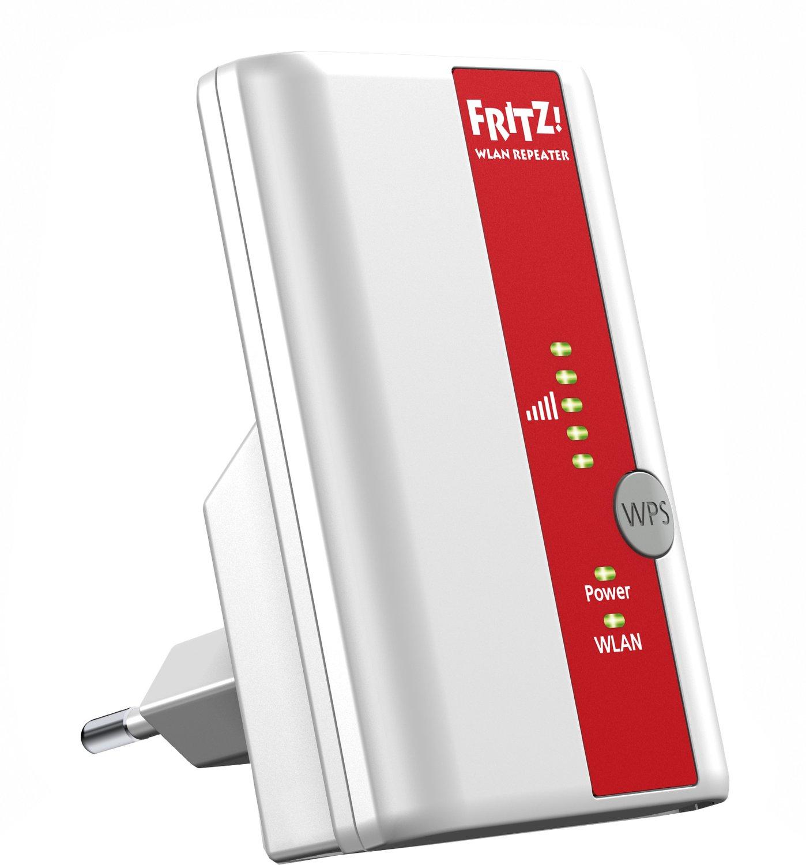 [Redcoon ab 06.00 Uhr] AVM FRITZWLAN Wireless LAN Repeater 310 WPS 300 Mbit/s Wireless Lan für 24,-€ Versandkostenfrei bei PayPal Zahlung