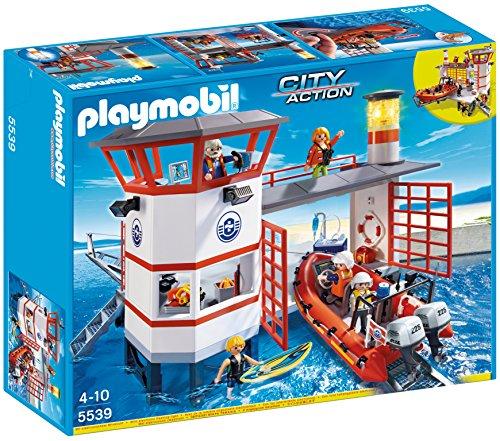 [amazon.co.uk] PLAYMOBIL 5539 - Küstenwachstation mit Leuchtturm für 32,95€ inkl. Versand