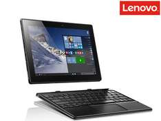 [ibood] Lenovo Miix 310 25,65 cm (10,1 Zoll HD) Tablet PC (Intel Atom x5-Z8350 Quad-Core Prozessor, 4GB RAM, 64GB eMMC, Intel HD Grafik, Touchscreen, Windows 10) silber inkl. AccuType Tastatur