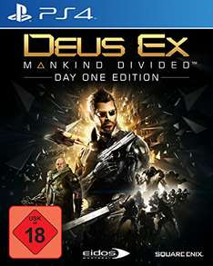 [Amazon] Deus Ex - Mankind Divided Day One Edition PS4