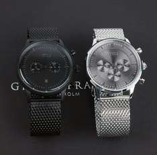 Grand Frank Chronograph Kinsale silver / Kingston matte black